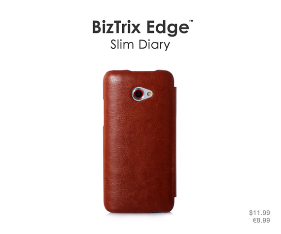 Ultra-slim case in succinct design keeps your phone thin and lightweight. Colors: Black, brown, sky blue and rose red. Materials: Premium PU leather and ultra-thin PC material.