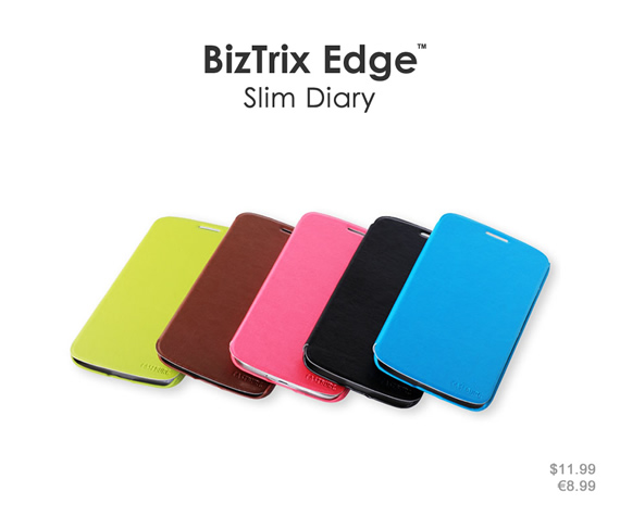 Ultra-slim case in succinct design keeps your phone thin and lightweight. Colors: Black, brown, light green, sky blue and rose red. Materials: Premium PU leather and ultra-thin PC material.
